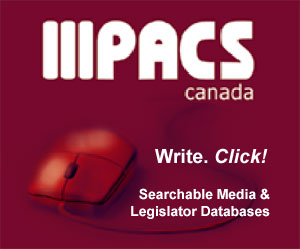PACS Canada Media & Legislator Databases